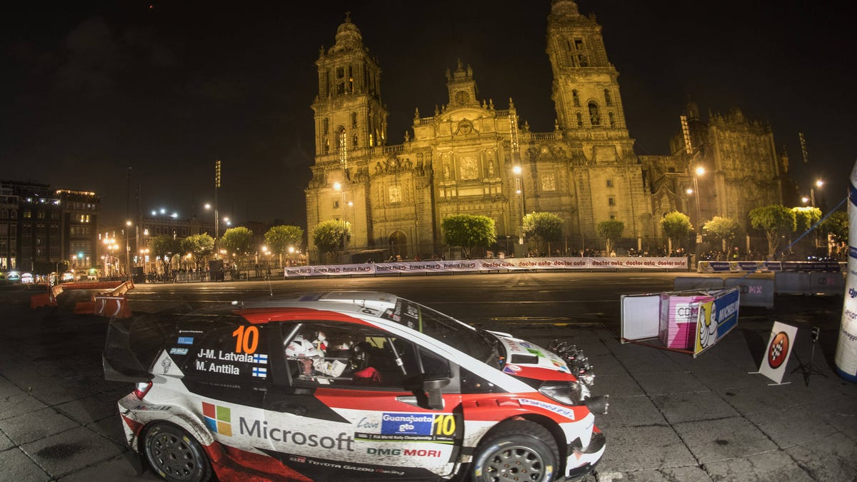 Rally Mexico Cancels Stages Because No One Has Their Car - Car rally near me