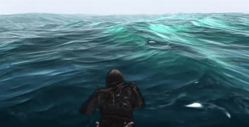 I Admire The Perseverance Of A Man Who Swims Across The Entire Map In Assassin's Creed IV: Black Flag