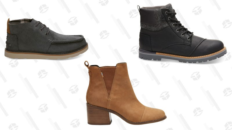 30% Off Boots | TOMS | Promo code BOOTS30