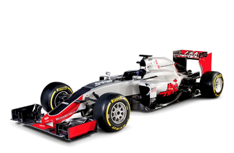 Illustration for article titled This Is Haas F1's America-Tastic Formula One Racer