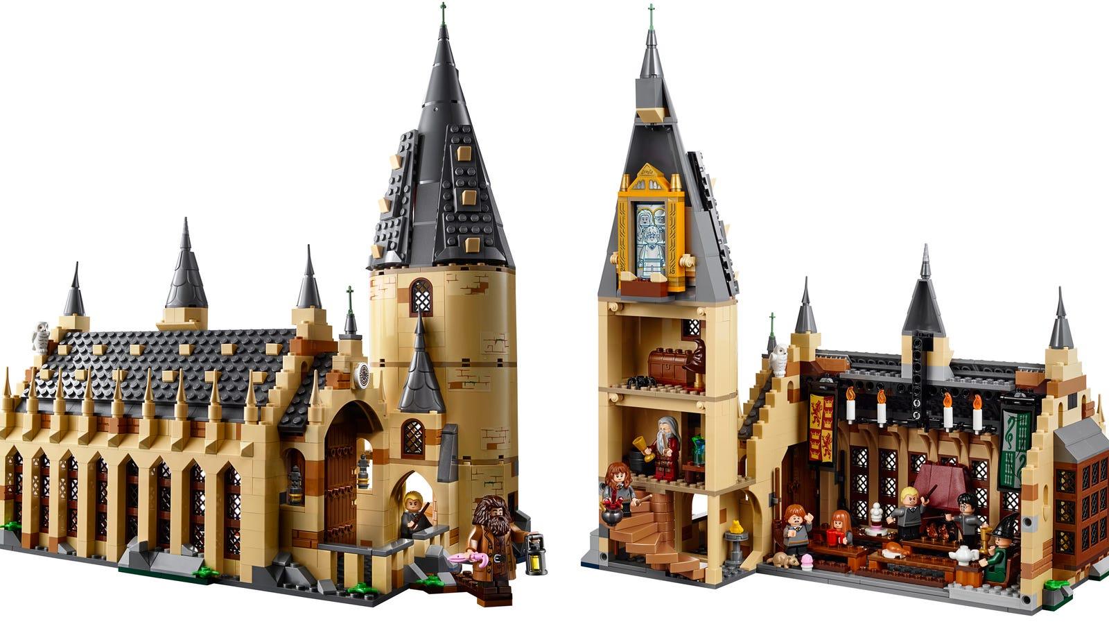 LEGO Harry Potter Diagon Alley review! 2018 set 40289 ... |Harry Potter Impulse Lego Sets