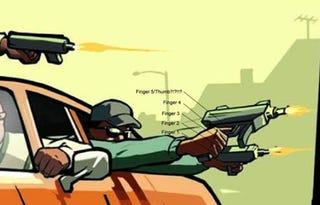 Illustration for article titled So... More GTA Freakazoid Finger Hands?