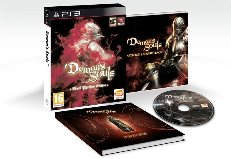 Illustration for article titled Demon's Souls Coming To Europe In A Lovely Big Box