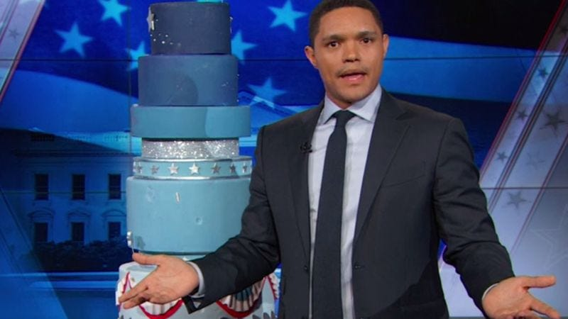 Screenshot: The Daily Show/Comedy Central