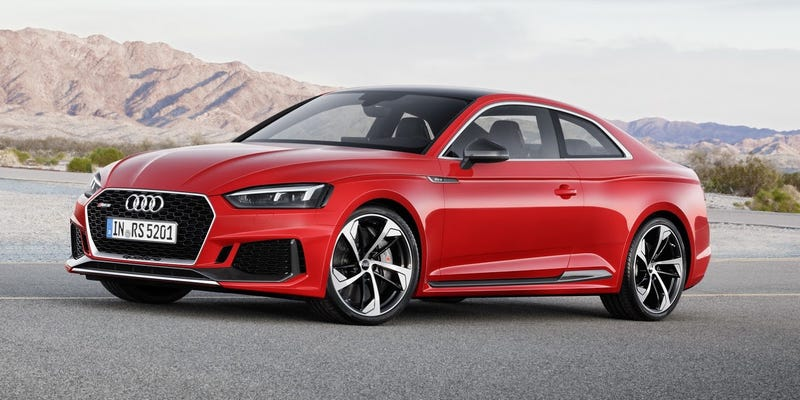 The 2018 Audi Rs5 Does Something Aggressively Different