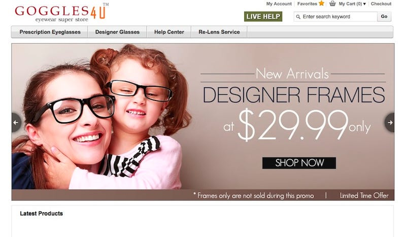 online glasses store  Five Best Online Glasses Stores
