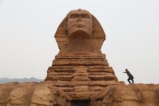 Illustration for article titled You Can Visit the Sphinx in...China