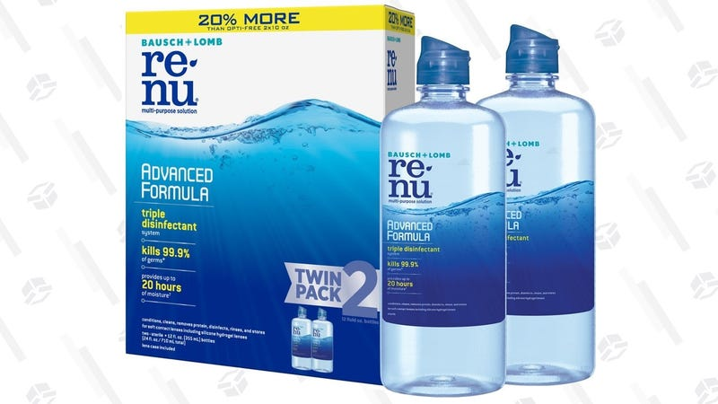 2-Pack ReNu Advanced Contact Lens Formula | $9 | Amazon | With $5 coupon and Subscribe & Save