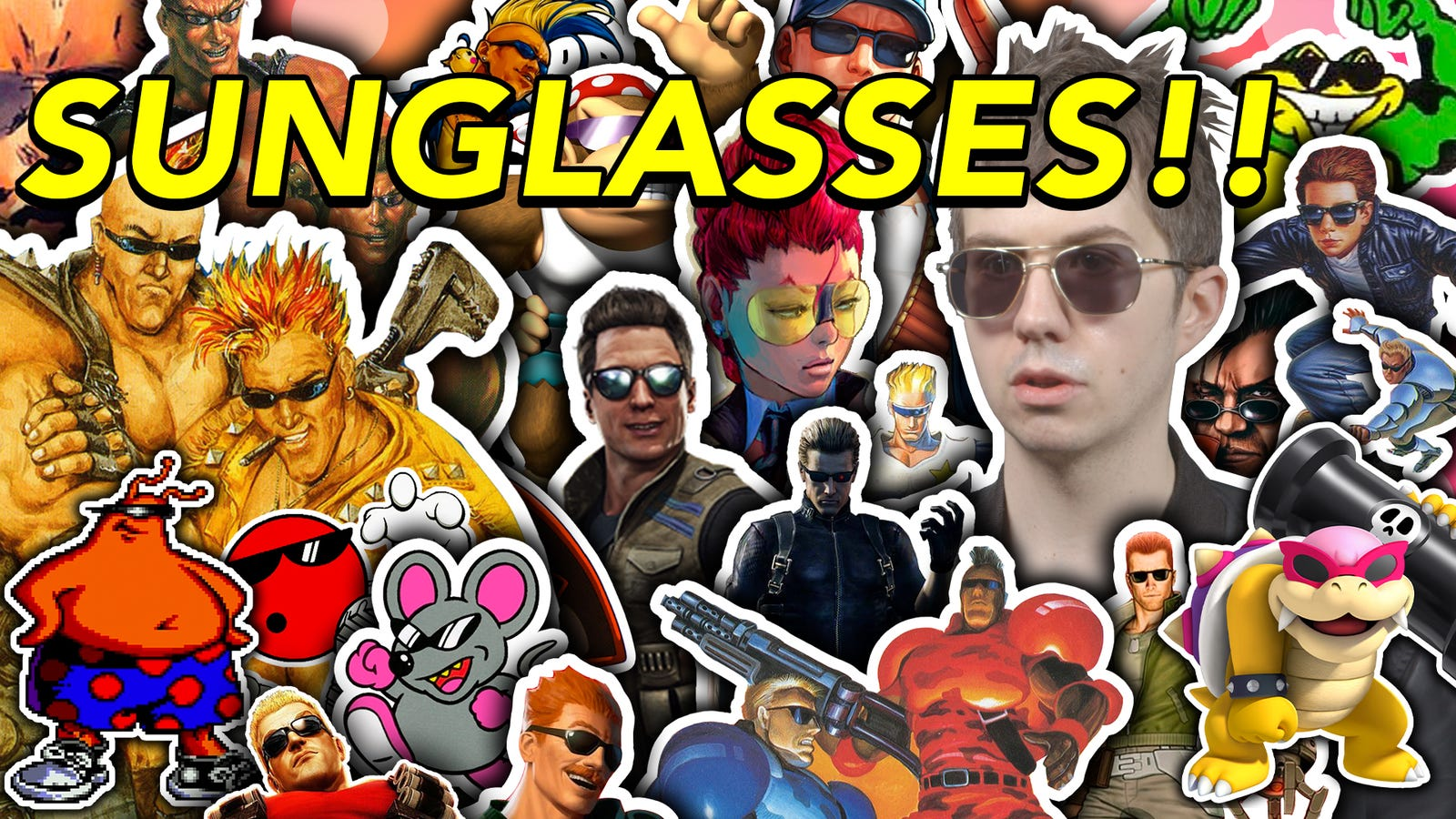 A Lot Of Terrible Video Game Characters Wear Sunglasses