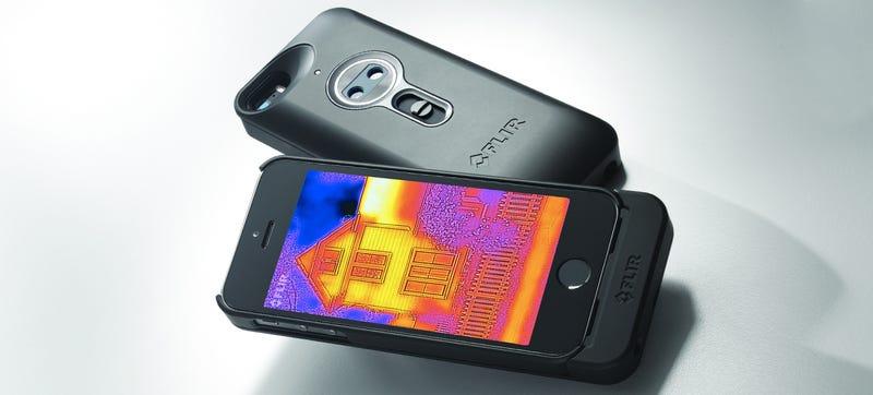 Illustration for article titled Esta carcasa añade visión térmica estilo Predator al iPhone
