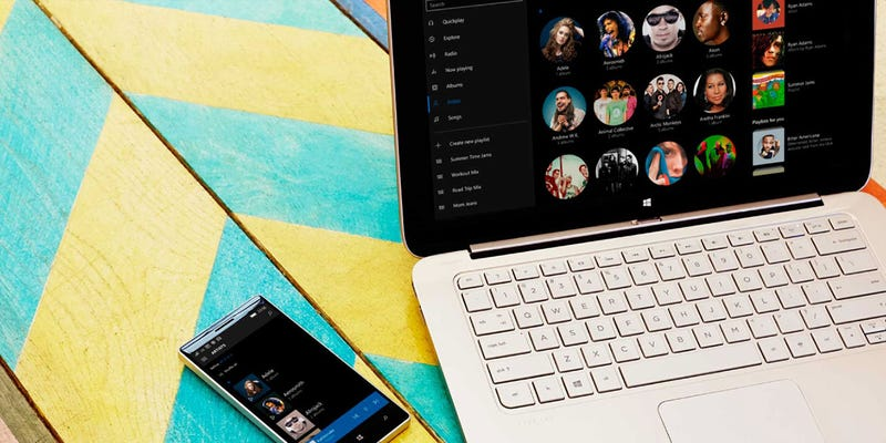 Illustration for article titled Access Your Local Music From Anywhere With Microsoft Groove