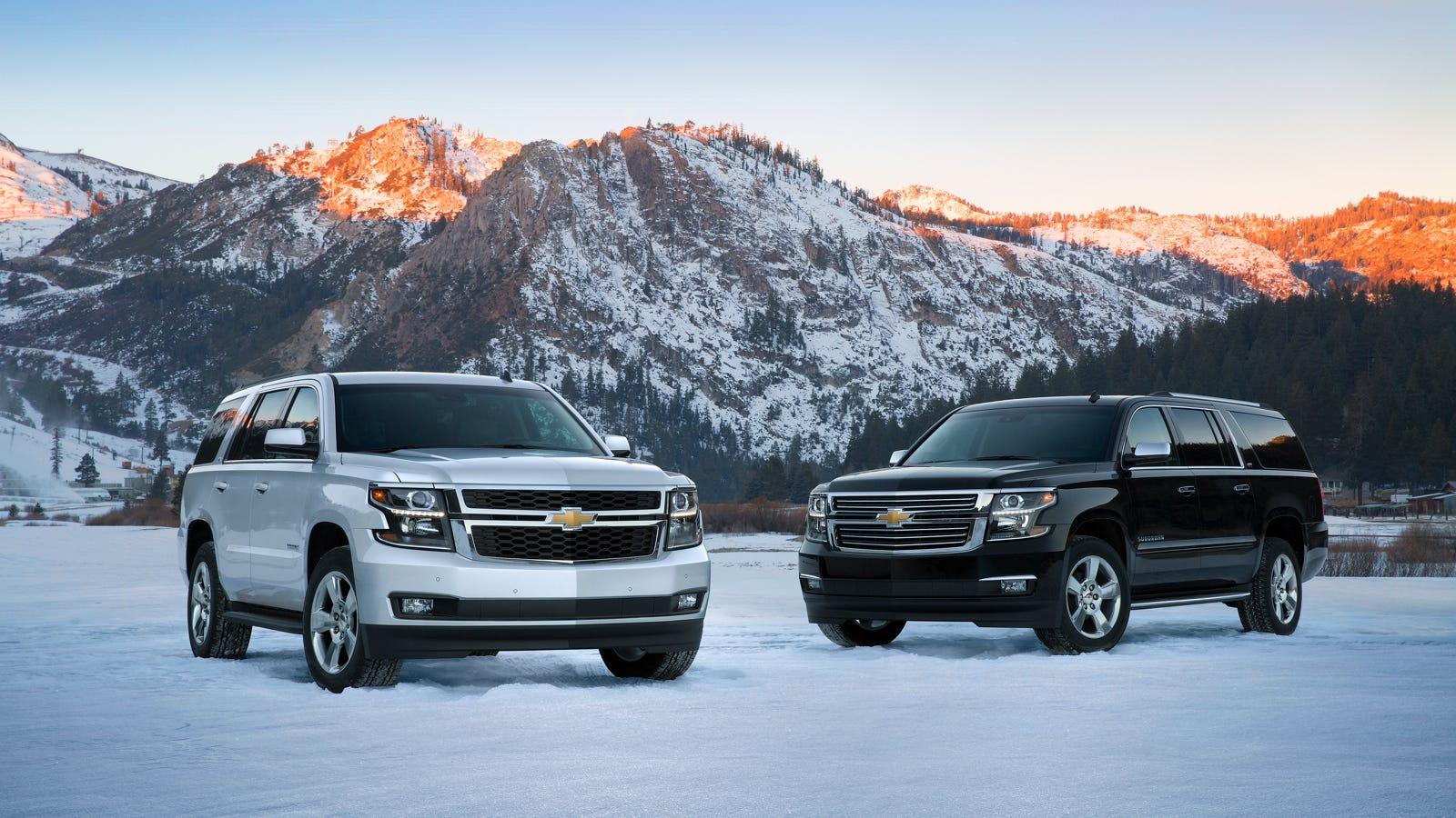 Suburban 2015 chevy suburban mpg : EPA Confirms Better Gas Mileage For 2015 GM Full-Size SUVs