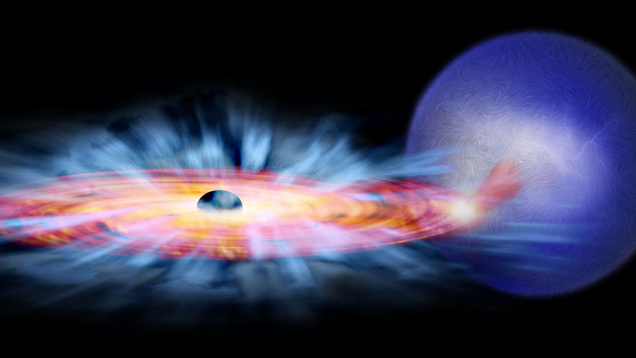 International Space Station Telescope Makes Amazing Observation of Black Hole Eating Stuff