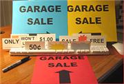 Illustration for article titled Get a free instant garage sale kit