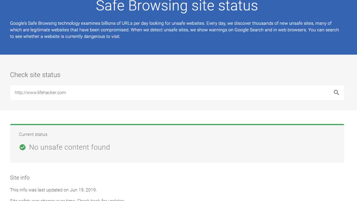 Safe Site Checker >> Report Suspicious Sites To Google Using This Chrome Extension