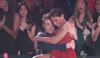 Nick Carter and Tamar Braxton on Dancing With the Stars Nov. 9, 2015 YouTube Screenshot