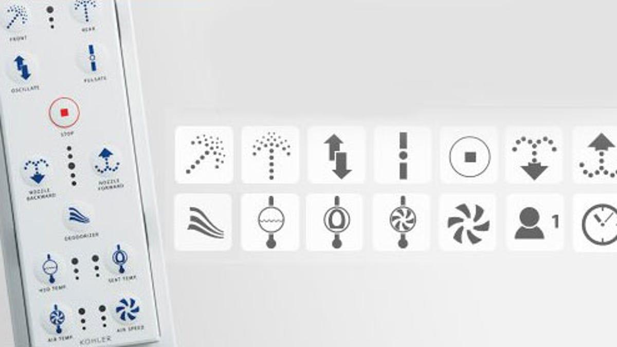 Kohler C3 Series Toilet Seats Offer Hands-Free Butt-Washing