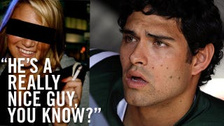 Illustration for article titled The Somewhat Romantic Story Of Mark Sanchez And A 17-Year-Old Girl