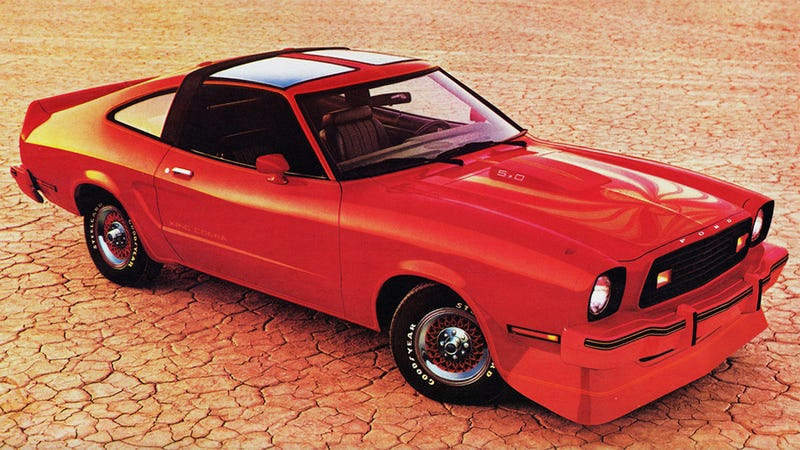 Illustration for article titled Driving the 1978 Ford Mustang II King Cobra