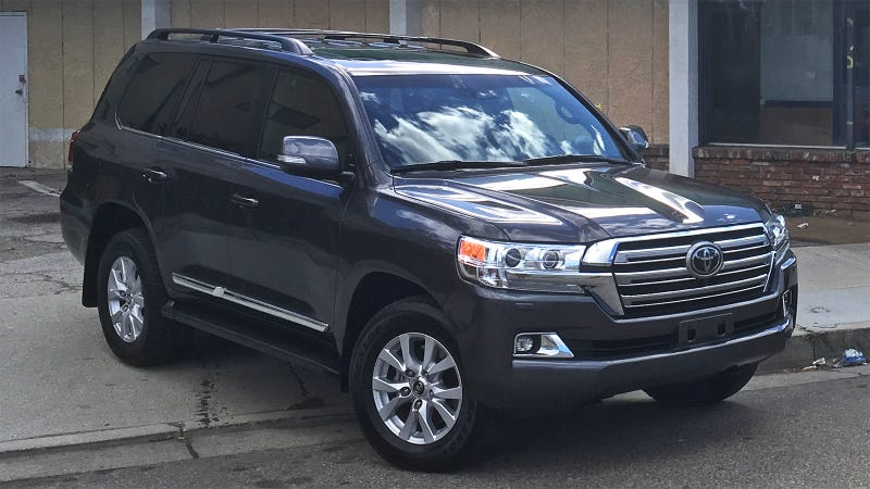 2018 toyota land cruiser. (image: andrew p. collins). the 2018 toyota land cruiser