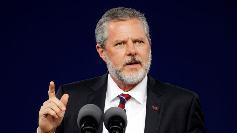 Illustration for article titled Jerry Falwell Jr. Tells Story Of Jesus Getting Revenge On Apostle Who Ratted Out His Corruption Schemes