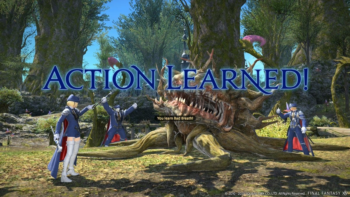 Final Fantasy XIV's Director Talks Blue Mages, World Visits