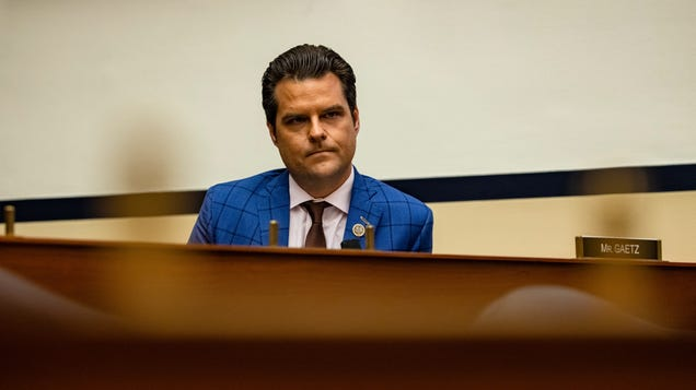 Matt Gaetz Reportedly Fought a Revenge Porn Law to Protect His Stash