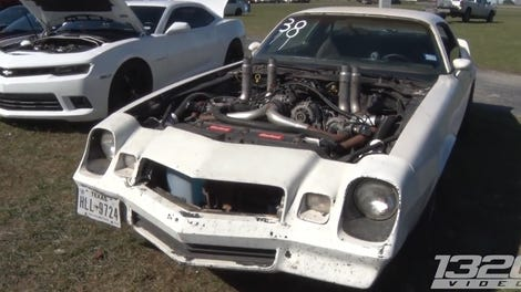 How A Diesel Turbo Doubles The Power Of A Junky Mustang V8