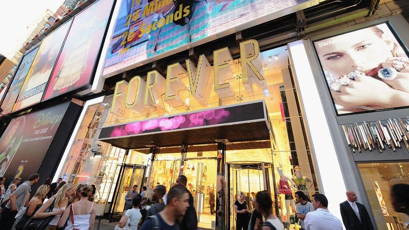 Illustration for article titled Forever 21 is Getting Sued Again