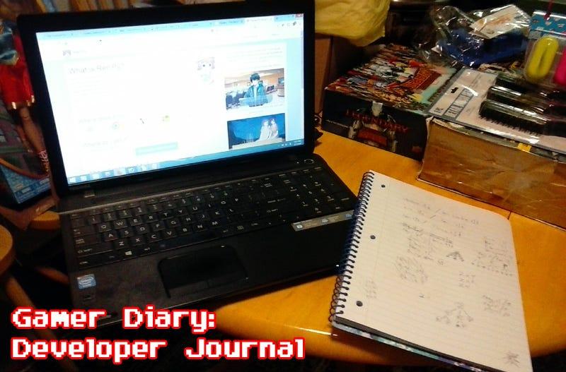 Illustration for article titled Gamer Diary, Developer Journal: Day Five