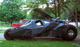 Illustration for article titled DIY Batman Tumbler Is Nearly Perfect, Built With One Man's Bare Hands