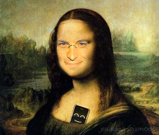 Illustration for article titled Louvre Apple Store Now Official, Mona Lisa Keeps Smiling
