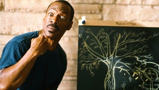 Illustration for article titled A review of a midnight show of A Thousand Words, that shitty Eddie Murphy movie about a magic tree
