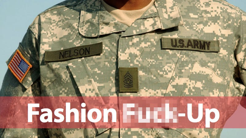 Illustration for article titled US Army's Pixellated Camo Uniform Is a $5 Billion Failure