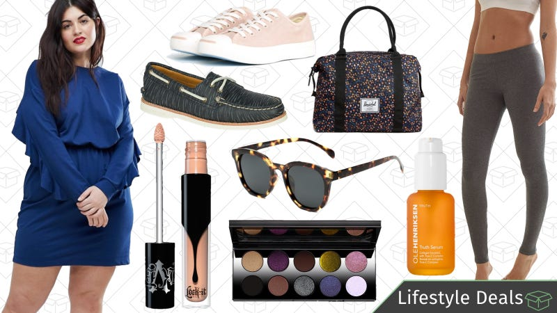 Illustration for article titled Monday's Best Lifestyle Deals: Sunglass Warehouse, Sperry, Kat Von D Beauty, and More