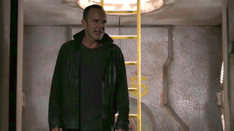 Heart and a lot of humor help the Agents Of S.H.I.E.L.D. evade alien hunters