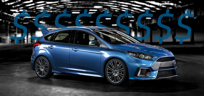 Illustration for article titled Ford Focus RS Pre-Orders Are Selling Like Hot Cakes