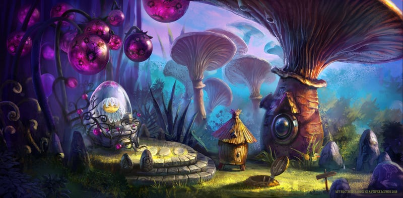 Illustration for article titled Welcome To Mushroom Town