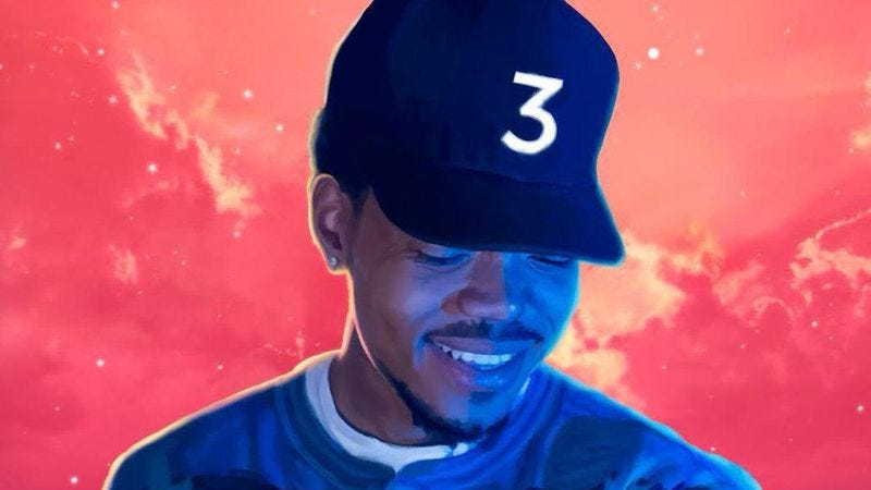 Illustration for article titled Chance The Rapper takes us all to church on Coloring Book