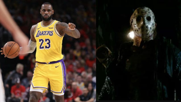 LeBron James Could Be Responsible for the Resurrection of Jason Voorhees