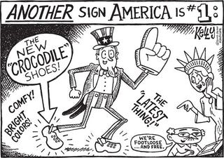 Illustration for article titled Editorial Cartoon - May 19, 2008