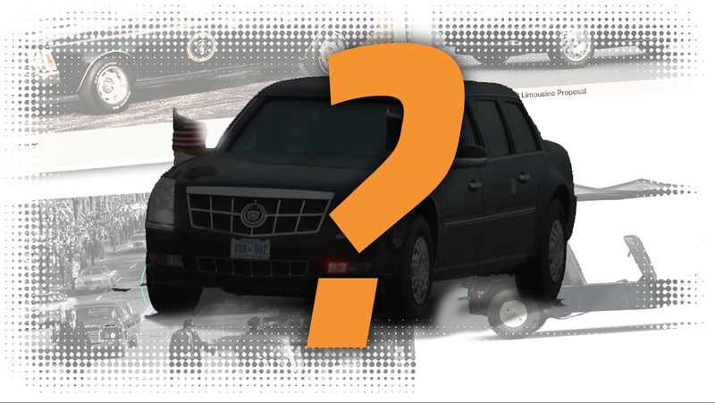 Illustration for article titled The Top Five Rejected Presidential Limousine Proposals