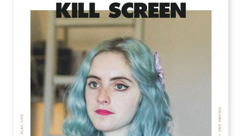 Cover of the relaunched Kill Screen
