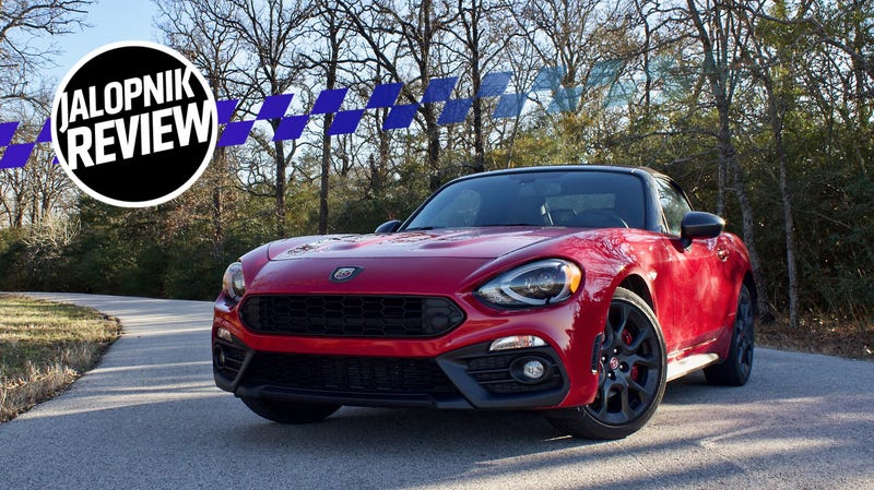 The 2018 Fiat 124 Spider Abarth Is A Fantastic Little