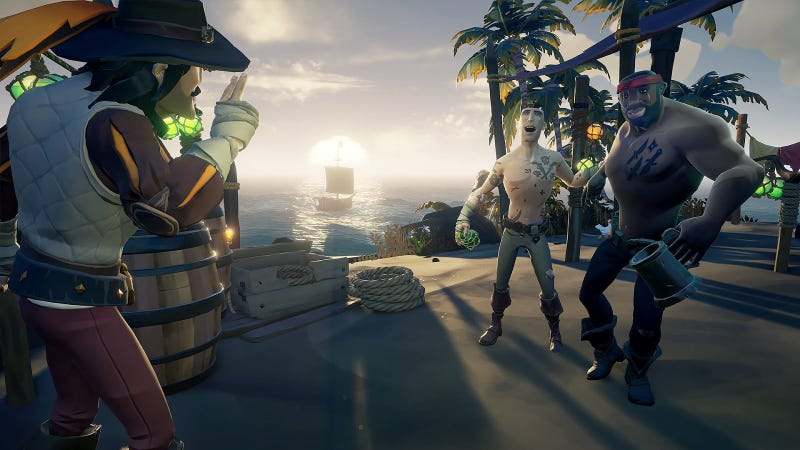 Illustration for article titled Sea Of Thieves Finally Gets Private Crews