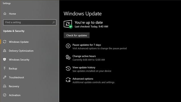 How to Install the Windows 10 May 2020 Update if It s Missing