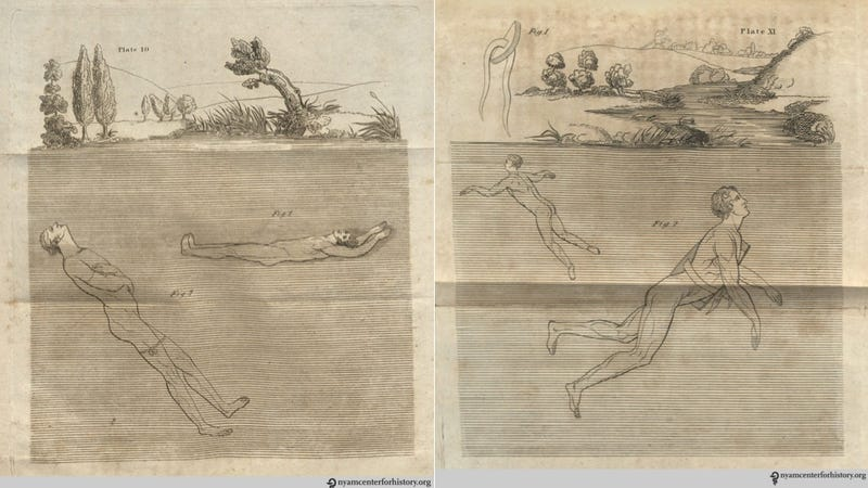 Illustration for article titled How Learning to Swim Changed Over the Course of American History