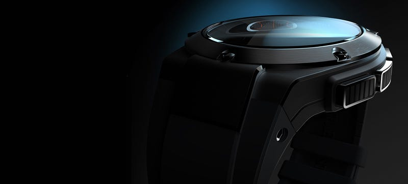 Illustration for article titled HP's Luxury Smartwatch Looks Surprisingly Nice