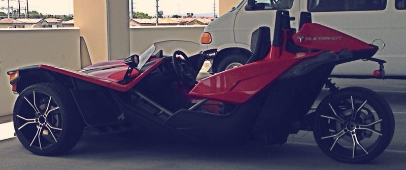 Illustration for article titled Polaris Slingshot: Is This It?