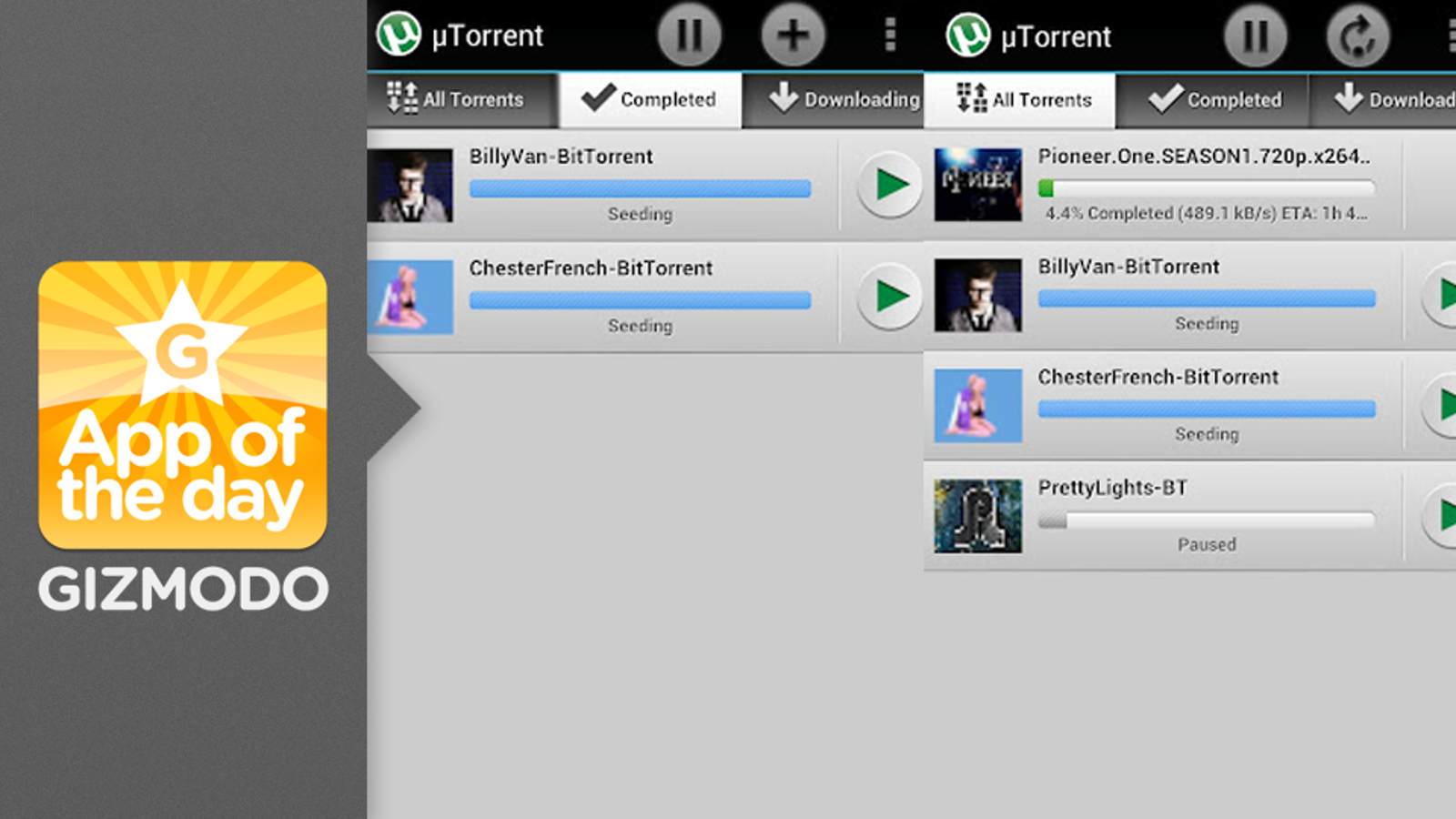 uTorrent: Download Directly to Your Phone